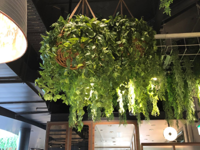 Artificial plants for Hanging Plants, vines, ivy and baskets